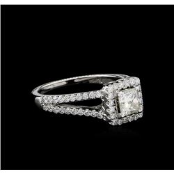 1.41ctw Diamond Ring - 14KT White Gold