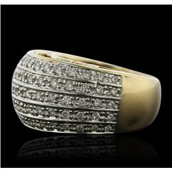 14KT Yellow Gold 1.00ctw Diamond Ring