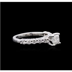 1.47ctw Diamond Ring - 14KT White Gold
