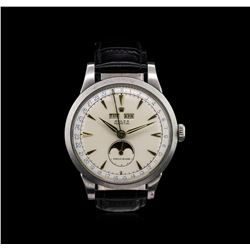 Rolex Stainless Steel Padellone Triple Calendar Watch
