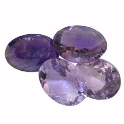29.41ctw Oval Mixed Amethyst Parcel