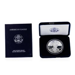 2008 1oz American Silver Eagle Proof Coin with Box