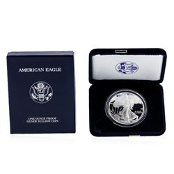 2006 1oz American Silver Eagle Proof Coin with Box