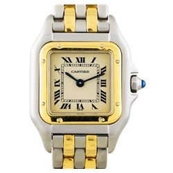 Two-Tone Cartier Panthere Oretacier Ladies Watch