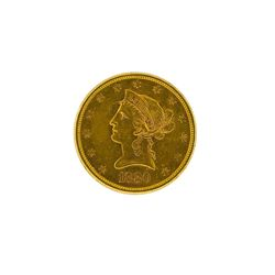 1880-S $10 Liberty Head Eagle Gold Coin