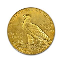 1908 $5 Indian Gold Half Eagle PCGS MS61