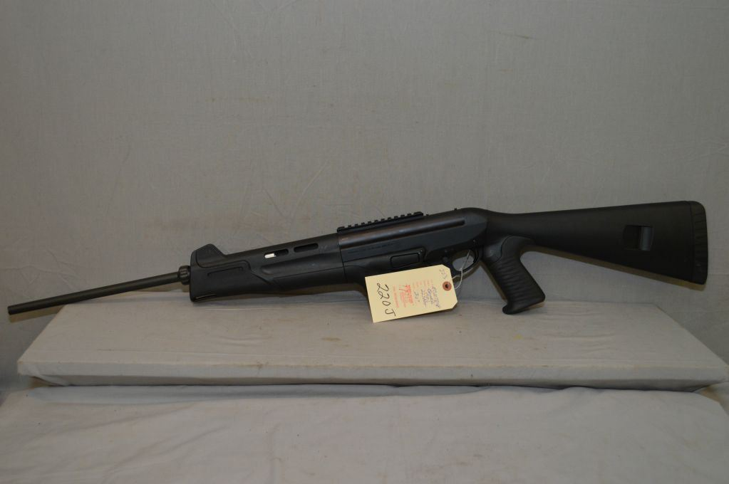 "benelli model mr1 .223 rem cal mag fed semi auto rifle w/ 20"" bbl"