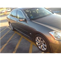 2006 Infiniti M35, 4 dr sedan with 206k miles, starts, runs and drives as it should, good car