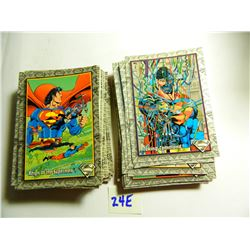 1993 Skybox The Return Of Superman Complete 100 Card Set