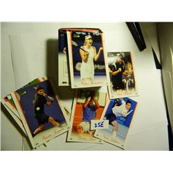2008 ACE Authentic Complete 72 Card Tennis Set, Loaded with Stars incl. Roger Federer, Rafael Nadal,
