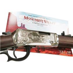 HENRY LEVER RIFLE .22 CALIBER MONUMENT VALLEY EDITION (TALO), NEW IN BOX, #H001TMV, Z