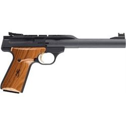 "Browning BG BUCK MARK HUNTER .22LR 7.25"" AS 10SH BLACK WOOD, NEW IN BOX, #051403490, Z"