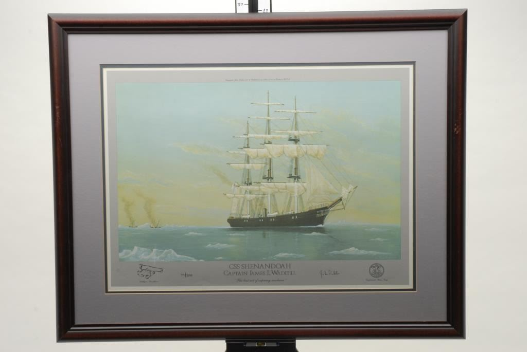 Image 1 Framed And Beautifully Matted Color Limited Edition 97 500 Print