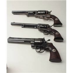 Important Colt Firearms Presentation 3-gun U.S. Bi  Centennial (1776-1976) Commemorative Set in thre