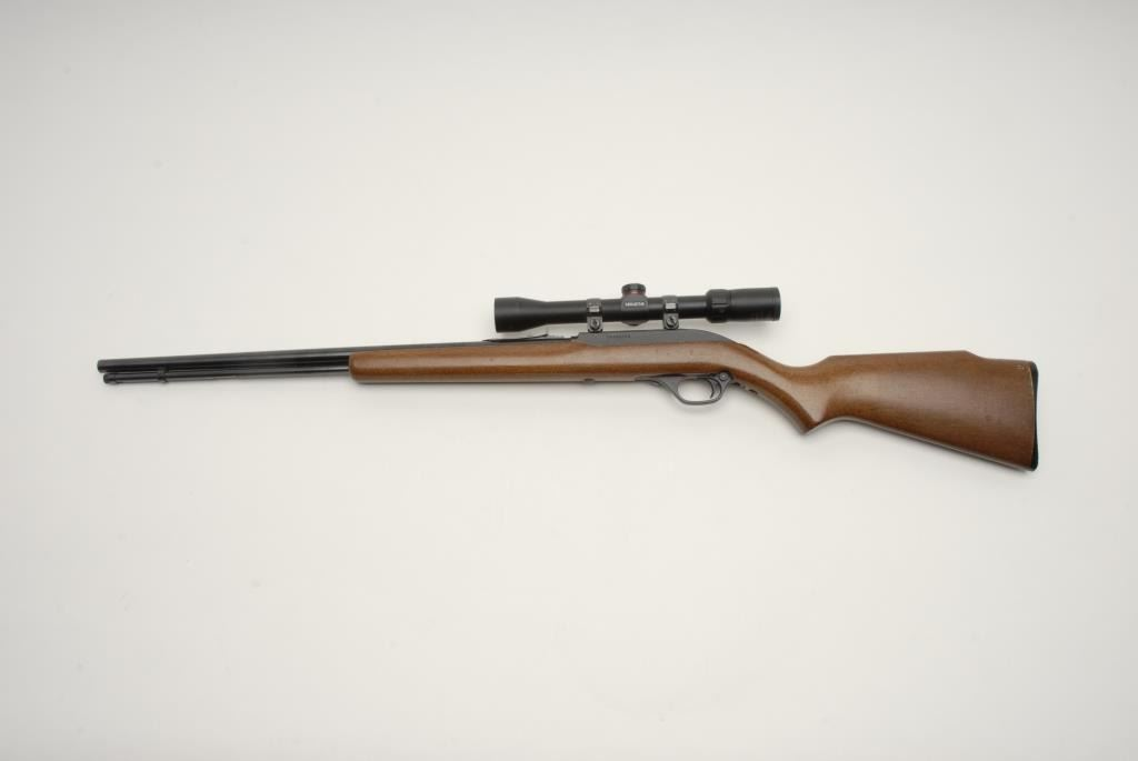 simmons 3x9 scope. image 2 : marlin model 60 semi-auto rifle in .22 l.r. with simmons 3x9 scope i