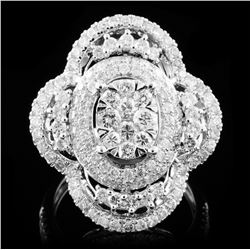18K White Gold 2.02ct Diamond Ring