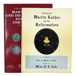 The Whiting & Zak Collections of Martin Luther Medals