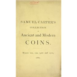 Samuel Carter's 1880 Sale, Priced