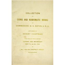 Coins & Numismatic Library of Commodore Eaton