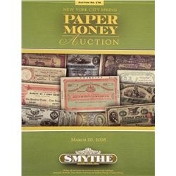Smythe Paper Money Catalogues
