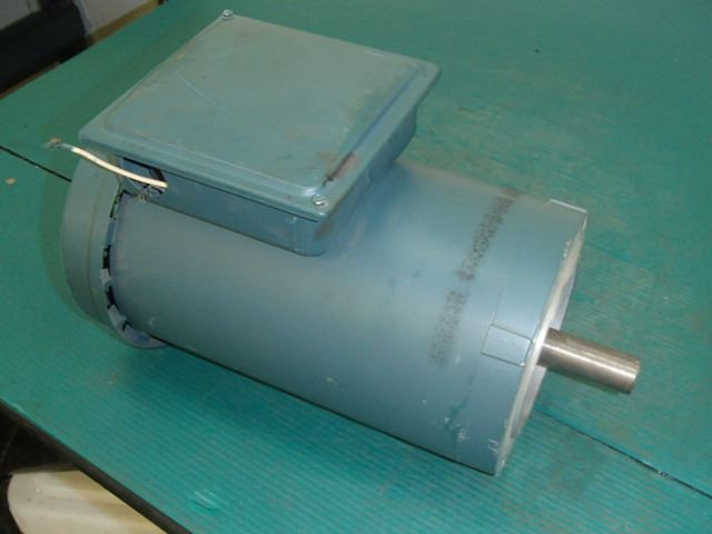 Reliance electric sabre 2hp motor for parts for Reliance electric motor parts