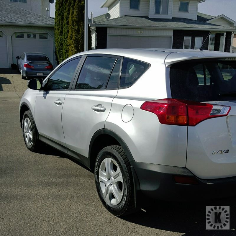 2014 toyota rav4 le awd kastner auctions. Black Bedroom Furniture Sets. Home Design Ideas