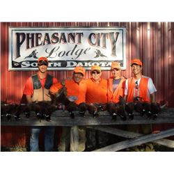 Pheasant City Lodge 2 day/2 night Hunt for 2
