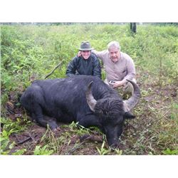 Caza Y Safaris 5 day water buffalo hunt for 1 hunter in Argentina