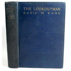 "1923 ""THE LOOKOUTMAN"" HARDCOVER BOOK BY DAVID W BONE"