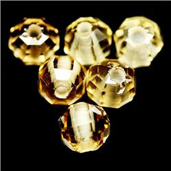 LOT OF 4.51 CTS OF GOLDEN YELLOW BRAZILIAN CITRINES