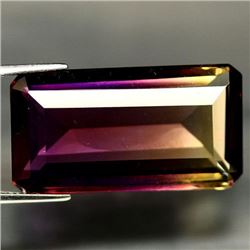 31.90 CT PURPLE AND GOLDEN BOLIVIAN AMETRINE