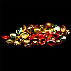 LOT OF 8.51 CTS O FANCY COLOR AFRICAN SAPPHIRES