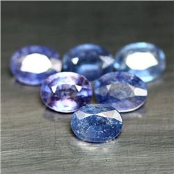 LOT OF 16.23 CTS OF BLUE MADAGASCAR SAPPHIRES