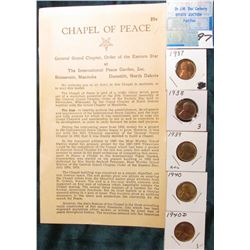 "Brochure: ""Chapel of Peace General Grand Chapter, Order of the Eastern Star at The International Pea"
