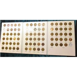1917-59 Partial Set of Lincoln Cents in Archival Quality Littleton Coin folder. Some BU.