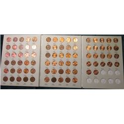 1975-2009 Complete Set of Lincoln Cents in a Harris Coin folder. Lots of BU.
