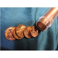 "1942 P Original Gem BU Roll of Lincoln Cents in a plastic tube. My ""Coin Dealers Newletters"" shows a"