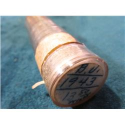 1943 P Original Gem BU Roll of Lincoln Cents in a plastic tube, this is one of the old tubes that ha