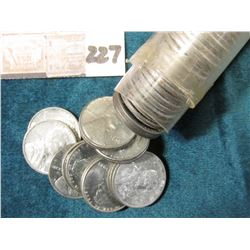 1943 P Original Gem BU Roll of Lincoln Cents in a plastic tube, Lots of oxidation on the coins in th