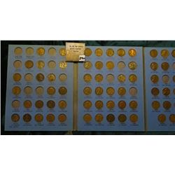 1909-1940 Partial Set of Lincoln Cents in a Whitman folder. Includes 1911D, 12D, 13D, & other scarci