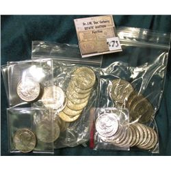 (19) 1979 P, (16) 79D, (2) 79S, 1981D, & 1999P Susan B. Anthony Dollars, most grade Uncirculated. (3