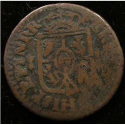Early Spanish Colonial Copper.