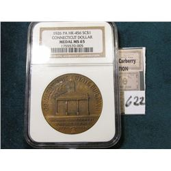 1926 Connecticut So-Called $ {HK-456} NGC MS65 #1755570-005