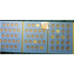 Used Whitman Coin Folder for Buffalo Nickels containing 7 pcs.