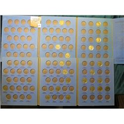 Used Whitman Coin Folder for Buffalo Nickels containing 6 pcs. and another with 13 pcs.
