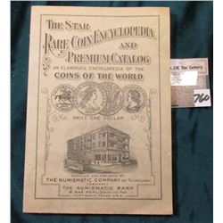 "(1932) ""The Star Rare Coin Encyclopedia and Premium Catalog an Elaborate Encyclopedia of the Coins o"