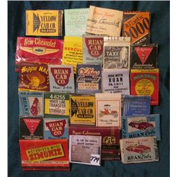 (25) Old Antique Match Book Covers, which 'Doc' had priced at $5 each.