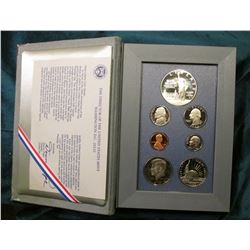 1986 S Silver Prestige U.S. Proof Set in original holder as issued.