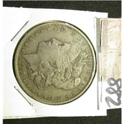 1885 P Morgan Silver Dollar. Very Fine.