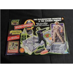 FRANKENSTEIN THE MUMMY VINTAGE MONSTER MAKER KIT INTACT UNOPENED
